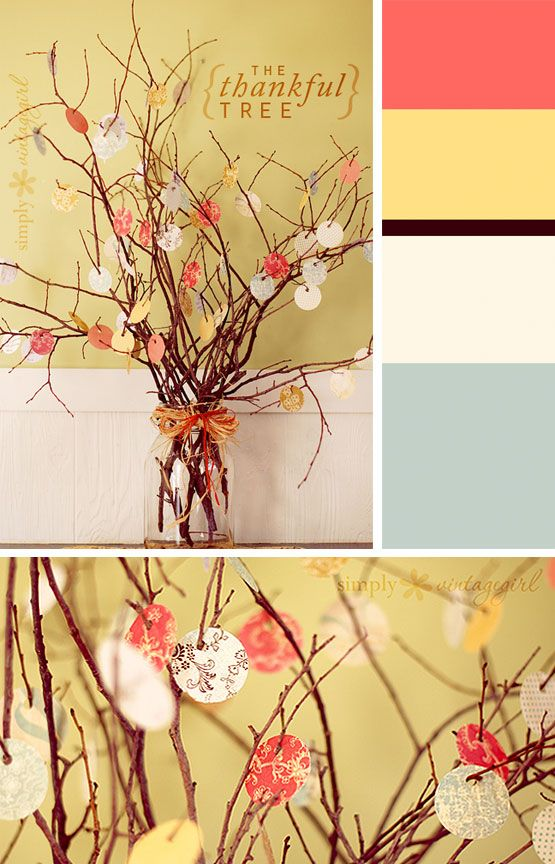 Happy Thanksgiving Crafts: 15 Ways to Show Thanks With Color by COLOURlovers :: COLOURlovers