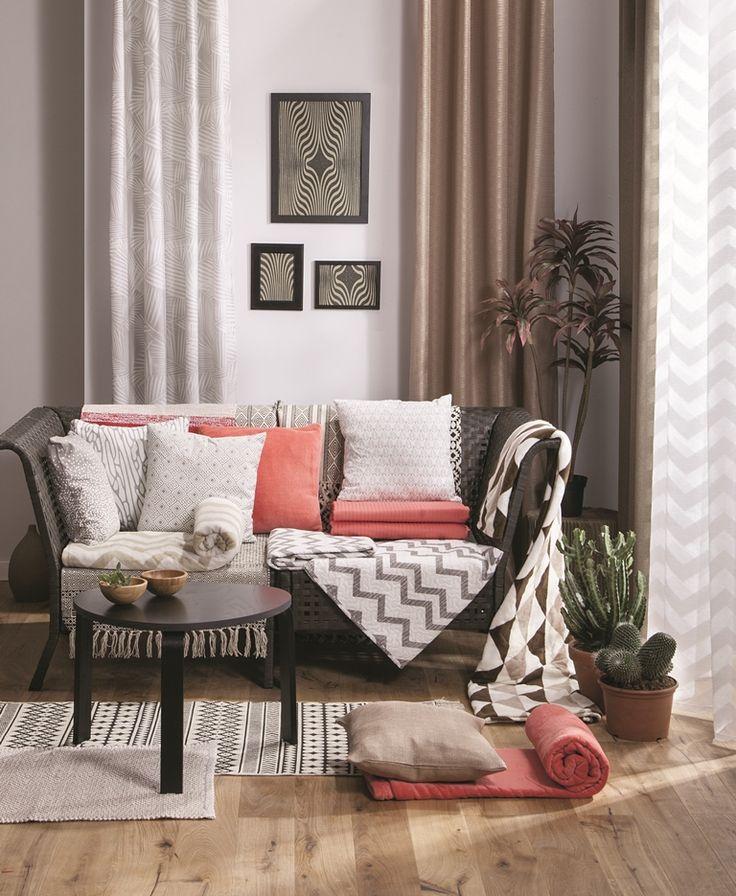 chłodne wieczory sprawiają, że chcemy usiąść wygodnie na poduchach i otulić ciepłym kocem. Polecamy nasz zestaw inspirowany kolorami pustyni #autumncolors  #autumn #inspiration #warm #cold #home  #homesweethome #wnętrza #interiordesign #obipolska #obibowarto