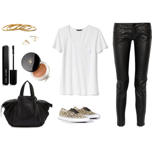 A fashion look from January 2017 featuring Banana Republic t-shirts, Maje pants and Liebeskind tote bags. Browse and shop related looks.
