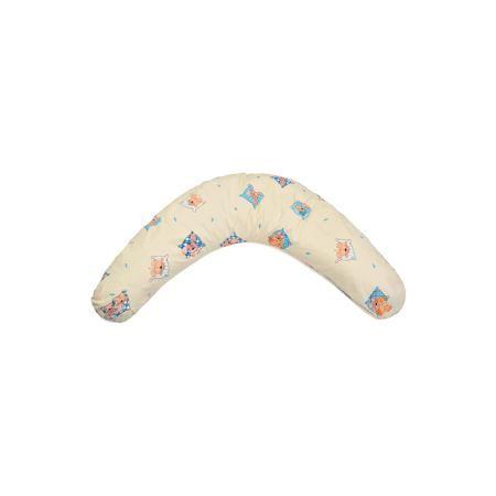"""La Armada Подушка для беременных """"Аура"""" 190х37 Сладкий сон c холлофайбером, La Armada,  — 1900р.  Многофункциональная подушка для беременных Аура подходит для сна, отдыха, а также для кормления ребенка.   Дополнительная информация:  Состав: чехол подушки и наволочка - 100% хлопок,  наполнитель - 100% полиэфирное волокно.  В комплект входит подушка и съемная наволочка из бязи на молнии.  Размеры подушки: длина по внешнему краю (в разложенном виде) - 190 см, ширина - 37 см.  Упаковка…"""