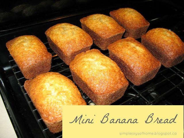 Mini Banana Bread