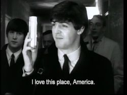 the beatles Paul McCartney The First US Visit Greatest Hits the first u.s. visit the first us visit screencaps