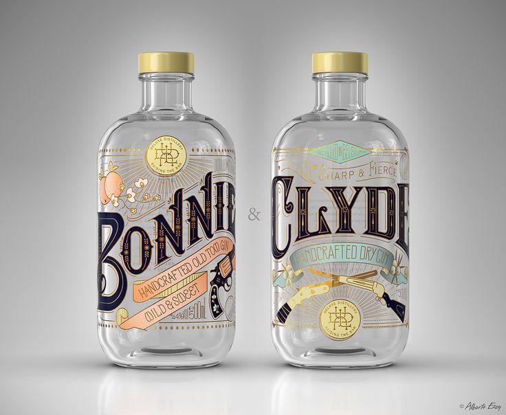 Always a Gentleman...Never a Saint — betype:     BONNIE & CLYDE Gin by  Bert...