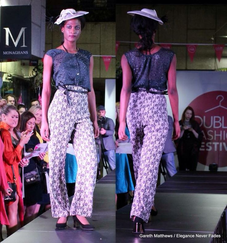 Office/Occasion wear styles from Dff fashion show styled by the design house