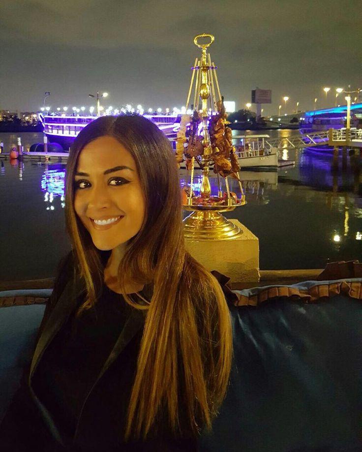 #GiorgiaPalmas Giorgia Palmas: Nice evening in a nice place  #goodnight #lastnight in #dubai #niceplace #me #giorgiapalmas