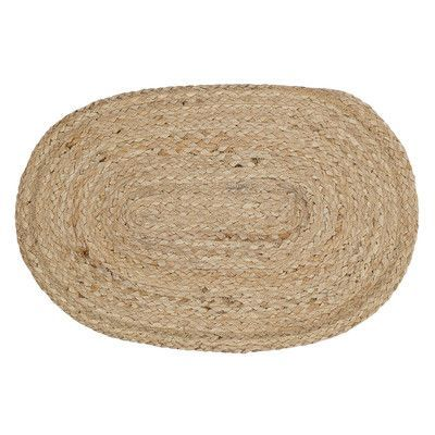 Beachcrest Home Fleming Jute Placemat Color: Natural