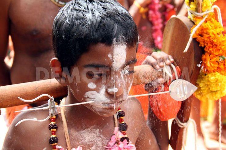 കാവടിയാട്ടം - സുബ്രഹ്മണ്യപ്രീതിക്കുവേണ്ടി നടത്തുന്ന ഒരു അനുഷ്ഠാനനര്ത്തനമാണ് കാവടിയാട്ടം. പ്രത്യേക പരിശീലനം ലഭിച്ച സുബ്രഹ്മണ്യഭക്തന്മാരാണ് ഈ നൃത്തം ചെയ്യുന്നത്. ഉത്തരകേരളത്തില് കാവടിയാട്ടത്തിന് പ്രചാരം കുറവാണ്. തൃശ്ശൂരും, പാലക്കാടും ഇതിനു നല്ല പ്രചാരമുണ്ട്. മനോഹരമായി അലങ്കരിച്ച അമ്പലക്കാവടിയും, ഗോപുരക്കാവടിയും, പൂക്കാവടിയുമൊക്കെ ആരെയും ആകര്ഷിക്കുന്നവയാണ്.  For further details visit www.microlifeindia.org