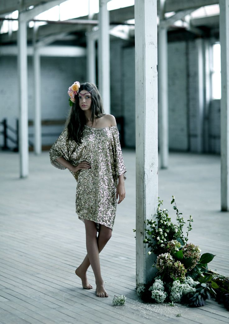 BRIONYMARSH//STYLE Allover sequin dress The Coco Dress Bohemian style Summer 12 www.brionymarsh.com