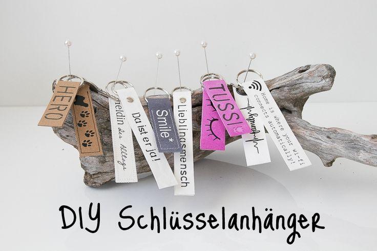 DIY Schlüsselanhänger aus SnapPap (Geschenkidee zum Valentinstag ♥)