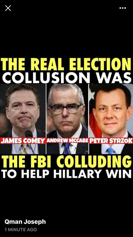 The millions of tax dollars and over a year if digging regarding the bogus Russians collusion against our elected President Revealed -Nothing. However it did reveal a lot of Americans colluding against this president and that Clinton sold 20% of Americas Uranium to the RUSSIANS. No one knows where it is, probably in North Korea or Iran. Seems like treason❗️Also this investigation uncovered the fake Russian dossier which enabled the obama administration to spy on Americans!  A big thank you…