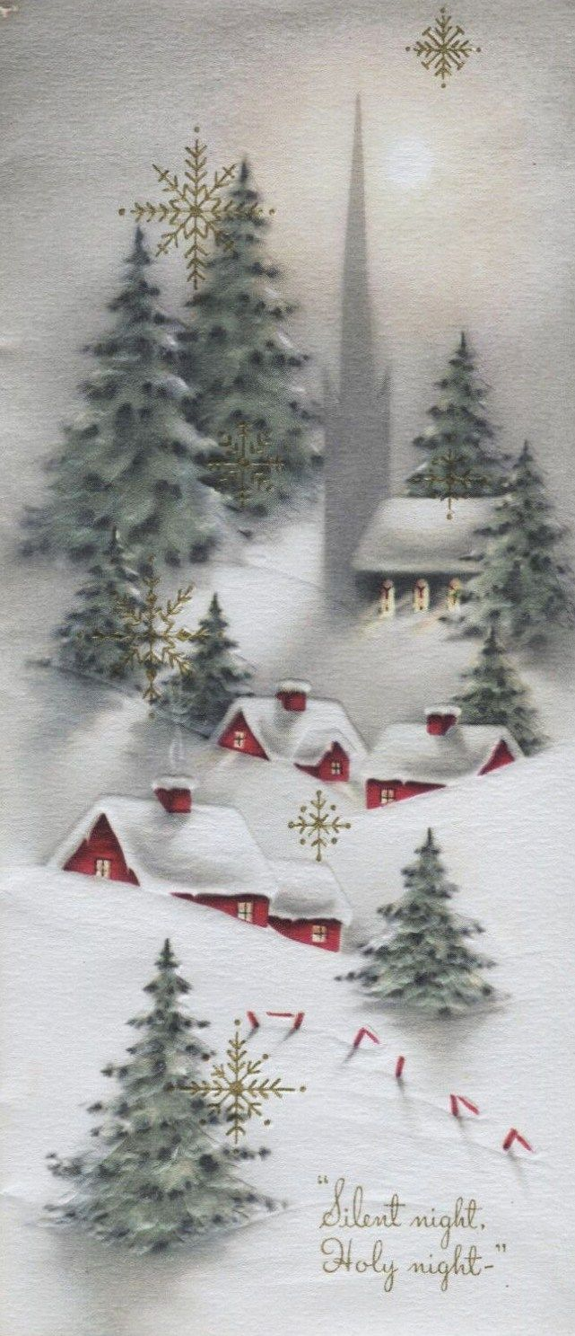 images about vintage on pinterest snow vintage christmas