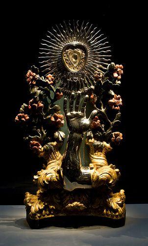 Catharijneconvent - Armreliekhouder van Sint-Franciscus Xaverius