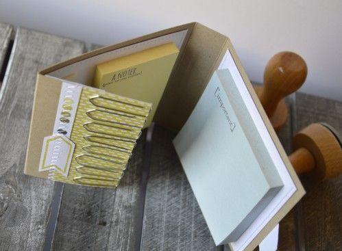 """Mary : kit bureau : tampons et matrices de coupe (dies) 4enscrap """"Nos essentiels"""""""
