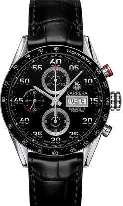 TAG Heuer 'Carrera' Automatic Tachymeter #Watch