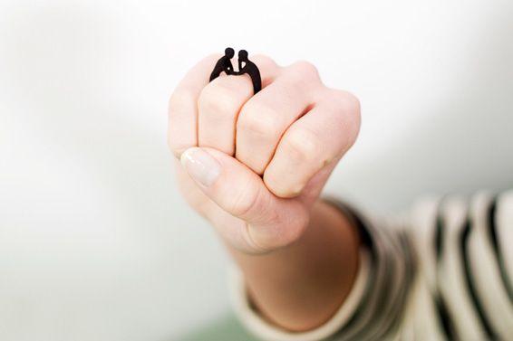 Alternatieve en budgettechnisch aantrekkelijk 3D verlovingsring