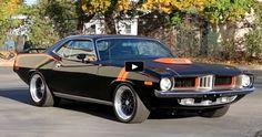 Pro Touring 1973 Plymouth Cuda 462 NASCAR Engine
