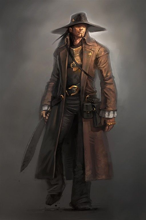 The most eye catching feature about this character is his long trench coat design that gives the character a heroic vibe. As well he also gives the impression of a cowboy. http://ericbelisle.com/weblogs/wp-content/gallery/visual-destiny-geoffroy/geoffroy1.jpg