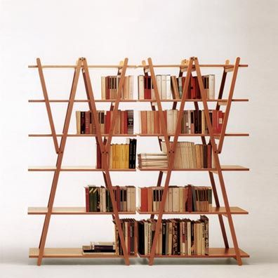 Vico Magistretti, Nuvola Rossa Shelves for Cassina, 1977.