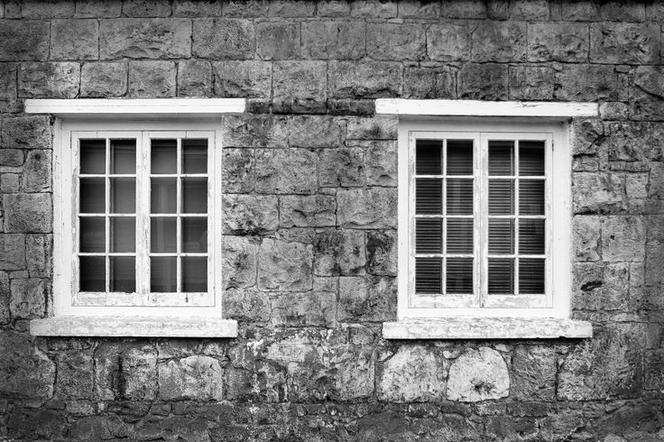 Wall of the stone kitchen built in 1885 for the old defence fort - now a movie theatre at North Head Historic Reserve in Auckland