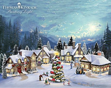 Thomas Kinkade Christmas Village 2020 2020 Thomas Kinkade Christmas Village | Nvkdhe.happy2020newyear.info