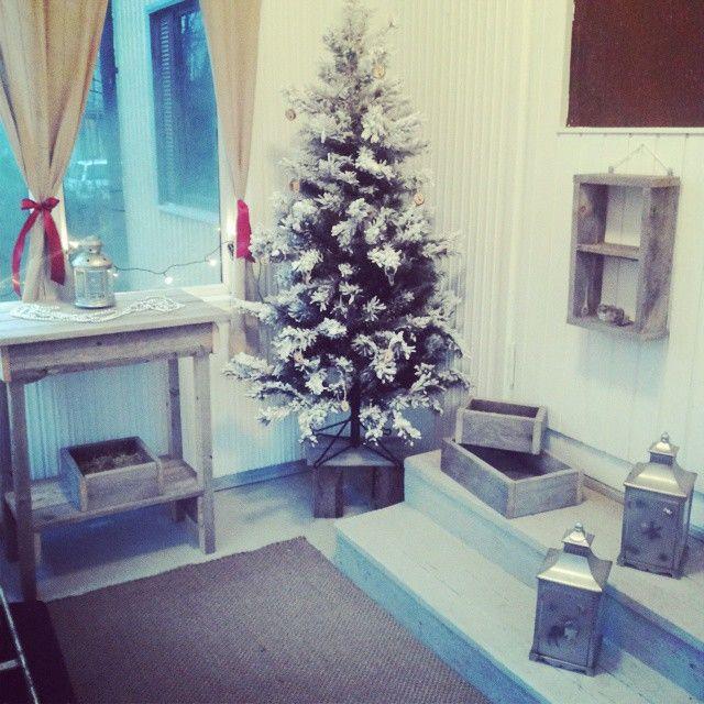 HilleRin joulun odotuksen ensimmäiset valmistelut.