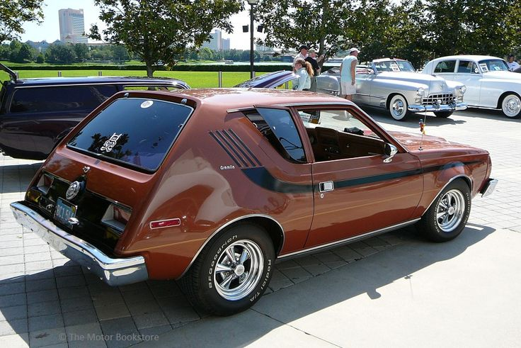 1974 amc gremlin  3  4 rear right view  downtown disney car