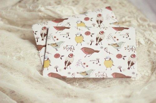 lovelyenvelopes - birds and nature envelope