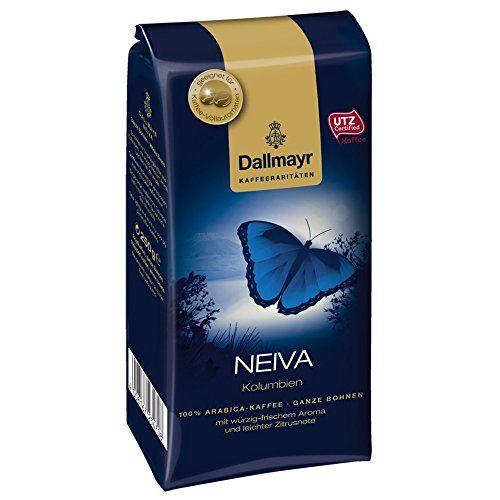 Rarità Neiva Dallmayr caffè, chicchi interi, Certified UTZ, 250 G EURO 14,46