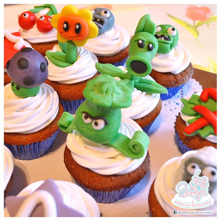 Cupcake Plants vs zombies https://www.facebook.com/katrin.smirnova.3958
