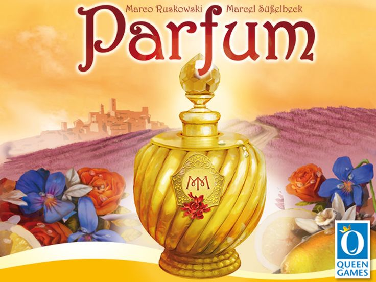 Forget the Kickstarter, we have it now! Parfum from Queen Games.