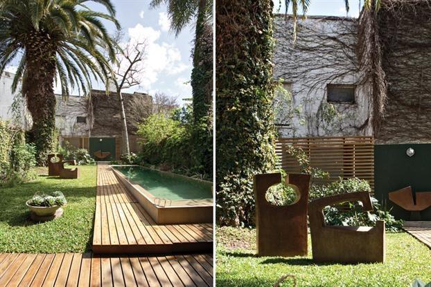 Un jardín voluptuoso y escultural | ESPACIO LIVING