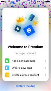 Premium gives you full worldwide financial freedom. 2 Mastercards. 1 Maestro. 25 bank accounts. Total control from your mobile phone.  Open an account in less than 5 minutes.