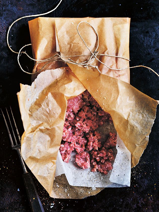 A super-versatile mince mixture that forms the basis of so many meals like meatloaf, hamburgers or meatballs.
