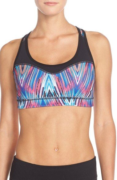 Zella 'Curve' Sports Bra available at #Nordstrom