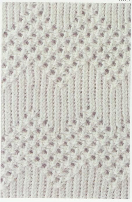 Lace Knitting Stitch.