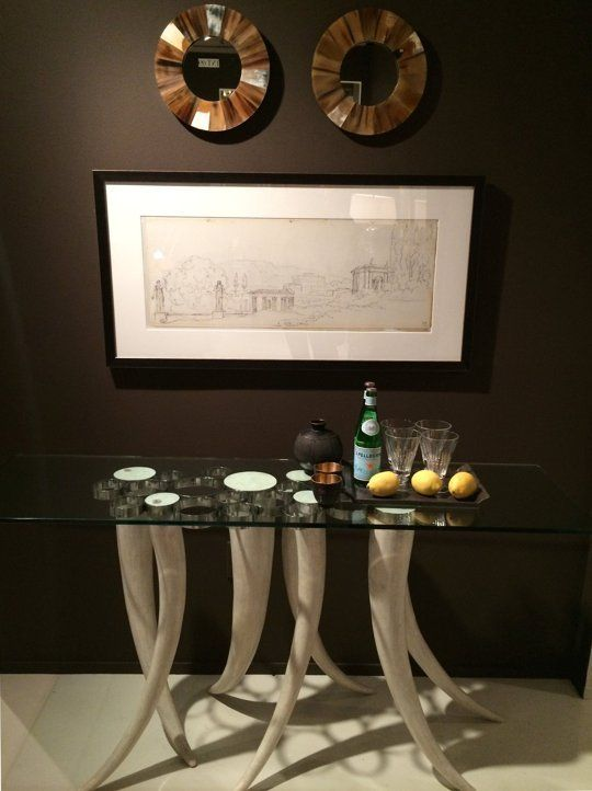 High Point Furniture Market 2014 IMAGES   at High Point: Statement Table Bases High Point Spring Market 2014 ...