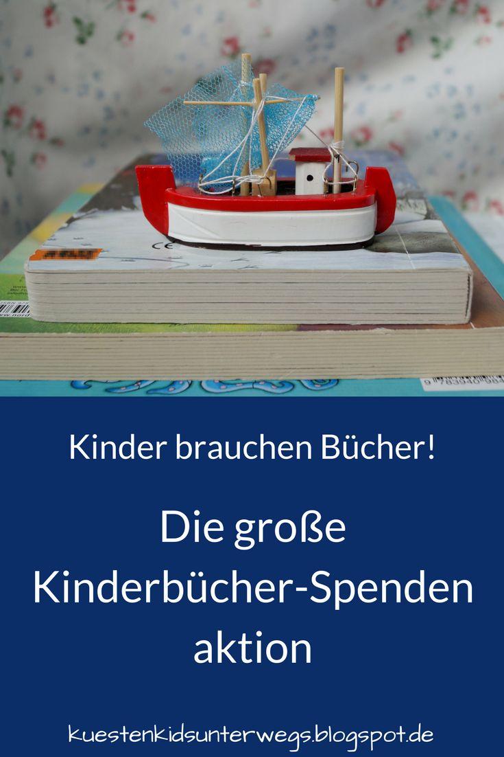 Das Bücherboot für andere: Die große Kinderbücher-Spendenaktion auf Küstenkidsunterwegs. Diesmal bringt das Bücherboot nicht wie sonst viele Kinder- und Jugendbücher zu Euch - diesmal bitte ich Euch um Eure Bücherspende im Rahmen der großen vorweihnachtlichen Spendenaktion auf Küstenkidsunterwegs!