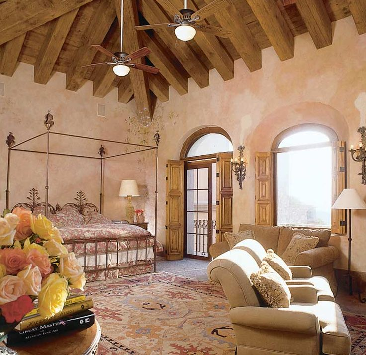 This Spacious Five Bedroom Spanish Mediterranean Style: 166 Best Architecture & Interiors: Mediterranean And