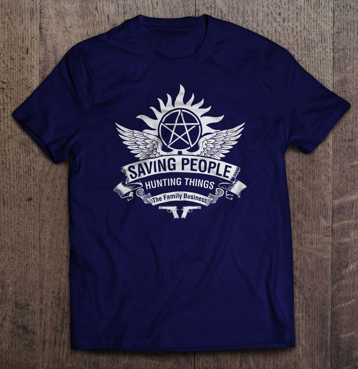 Supernatural - Saving People Hunting Things The Family Business T-Shirt