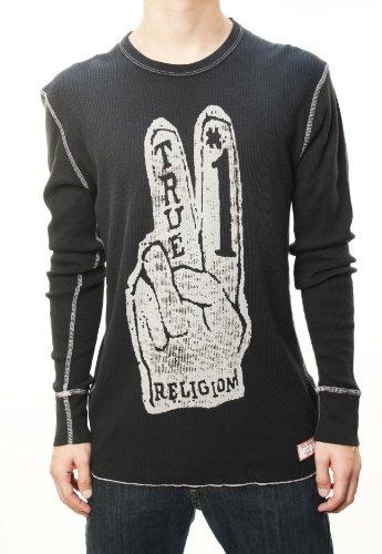 True Religion Men's Long Sleeve Thermal Crew « Clothing Impulse