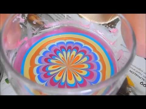 """These are how to do the water marble nails! Unfortunately this pin will only bring you to the website not the video. So just search """"how to do water marble nails"""" the video should be the 3 or 4 one on the list!"""