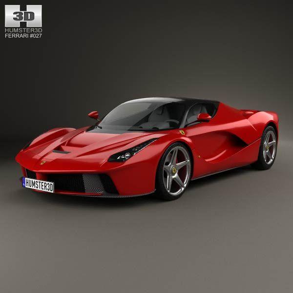 How Much Ferrari Cost: Ferrari F70 LaFerrari 2014 3d Model From Humster3d.com