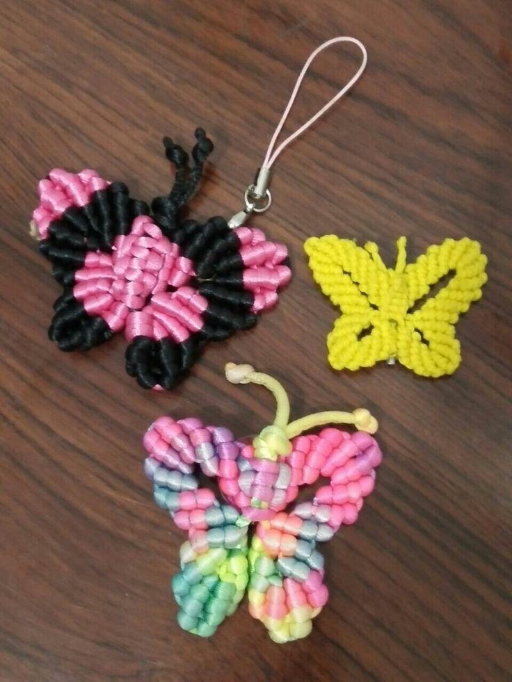 Gantungan kunci kupu2 Cocok untuk souvenir Silahkan di order (085348008780)