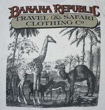 banana republic tshirts from the 80s - back when their stuff was cool :)