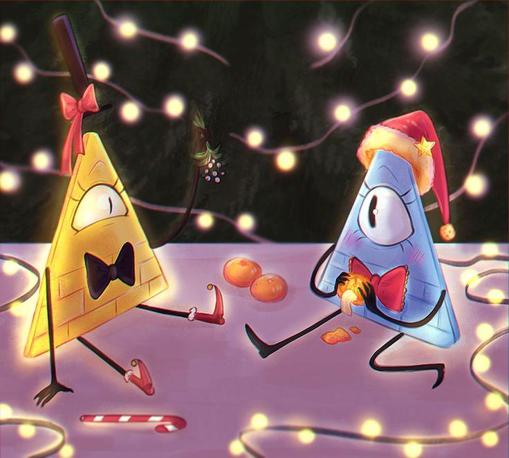 Новогодние картинки гравити фолз