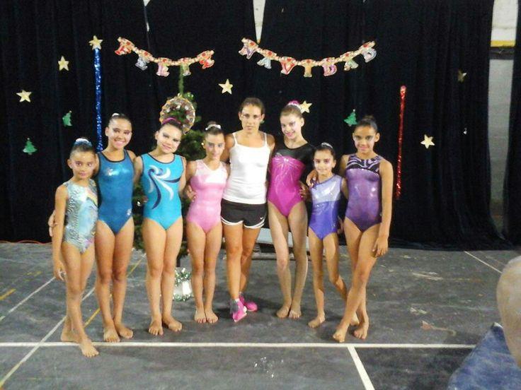 Gala Navideña 2015 - Gentileza Gym Artística Comunicaciones