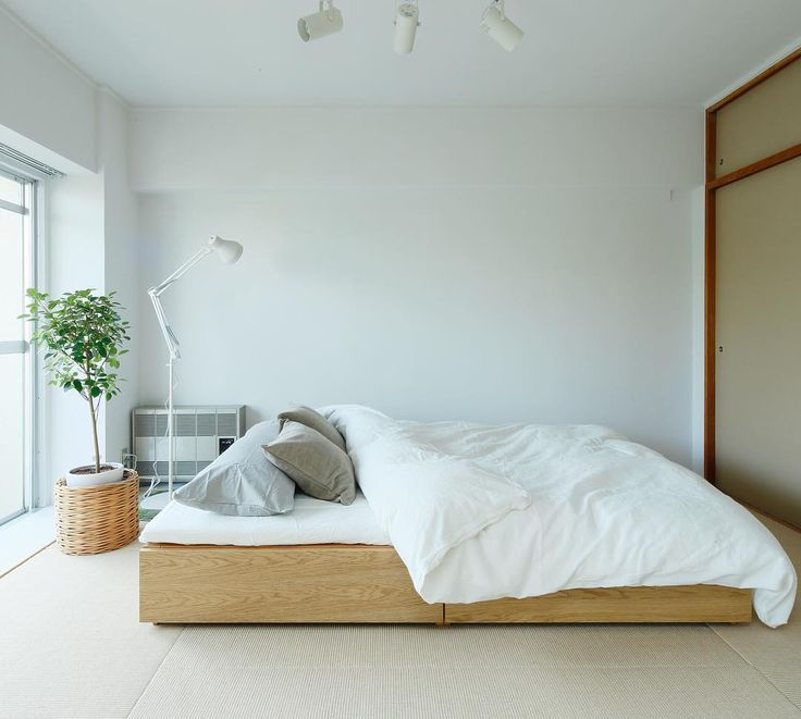 17 Best Ideas About Muji Bed On Pinterest Low Bed Frame