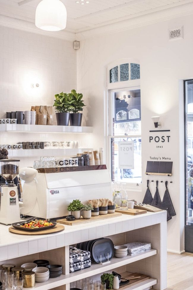 See inside Country Road's first resort store and cafe in Sorrento, Victoria: The store also includes a cafe called POST 3943 run by locals The Sisters.