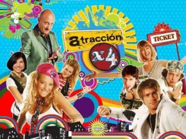 Atracción x4 fue una telenovela argentina producida por Ideas del Sur junto a Televisa. Su horario era de lunes a viernes a las 19 y se e...