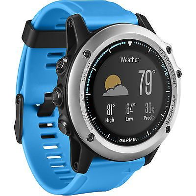 Garmin Quatix 3 GPS Sport Watch  010-01338-1B Open Box New Unused